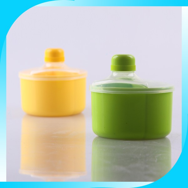 plastic products 2015 popular beautiful milk powder container