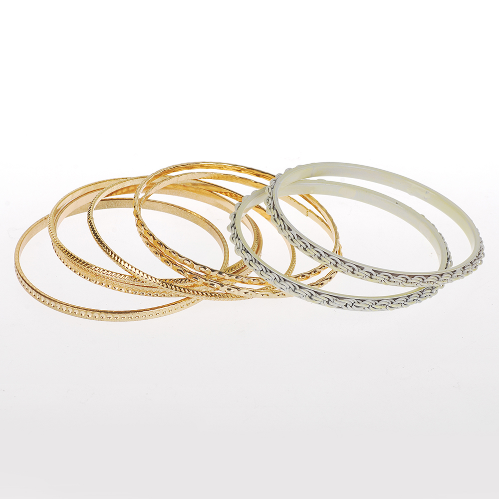 2016 fashion thin silver bangle with silver chain