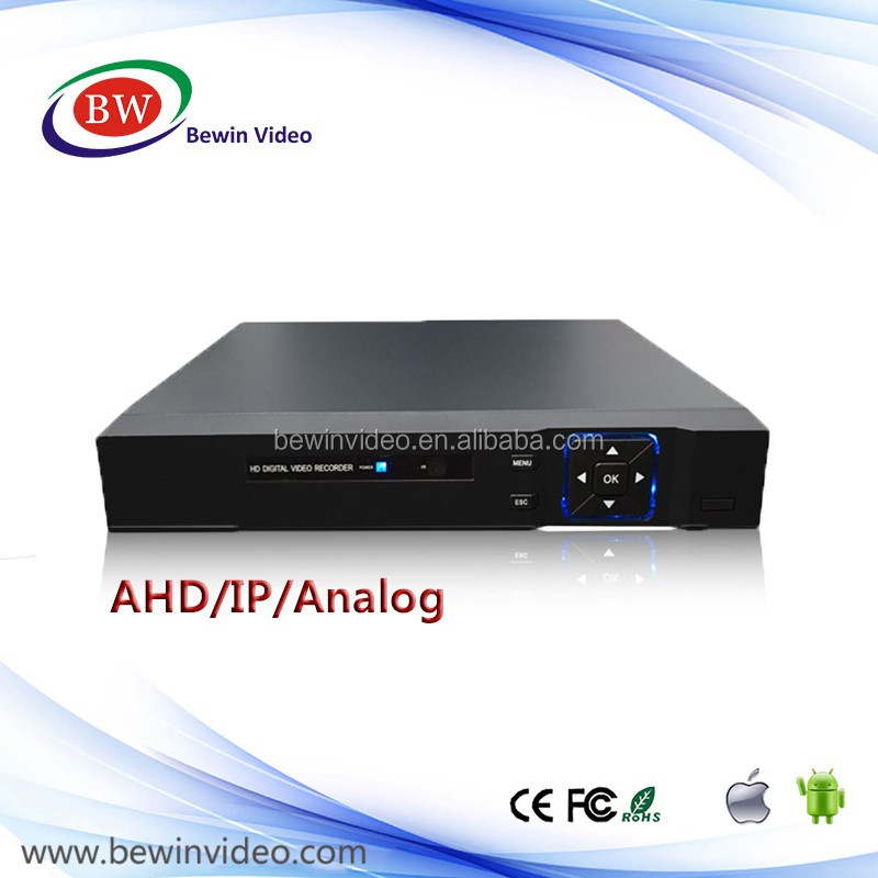 New arrival AHD HD Full D1 DVR 4 Channel H.264 Digital video Recorder with P2P Cloud hdmi DVR / NVR /AHD DVR