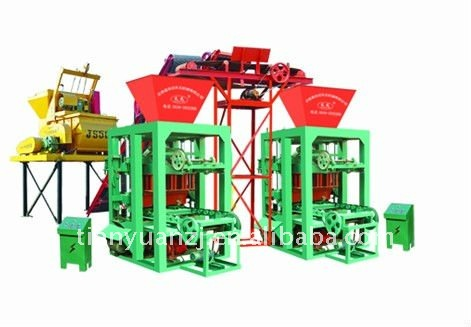 QTY 4-26A beton brick/block manufacturing machine