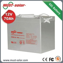12v 250ah li ion battery Gel Sealed lead Acid Battery