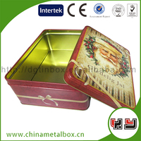New Design Food Grade High Quality Gift Sweet Standard Packing Tin Box