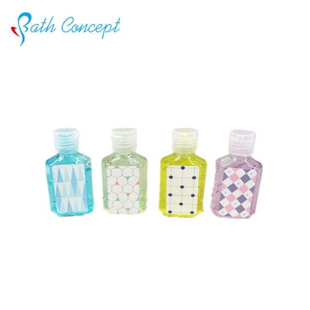 Antiseptic alcohol waterless scented bulk hand sanitizer