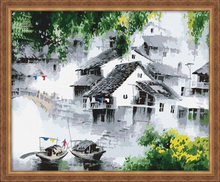 MG055 outdoor oil canvas The best oil painting in China