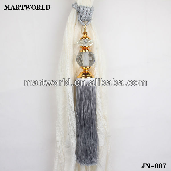 2014 curtain design tassels and fringes(JN-007)