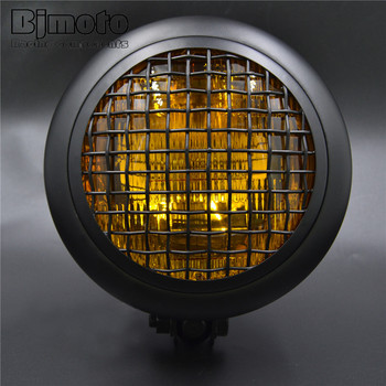 BJ-HL-031 BJMOTO motorcycle Aluminum Motorbike Projector LED Headlight for Harley Chopper