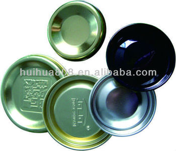 Metal tinplate lid for paper tube with SGS / FDA certificates