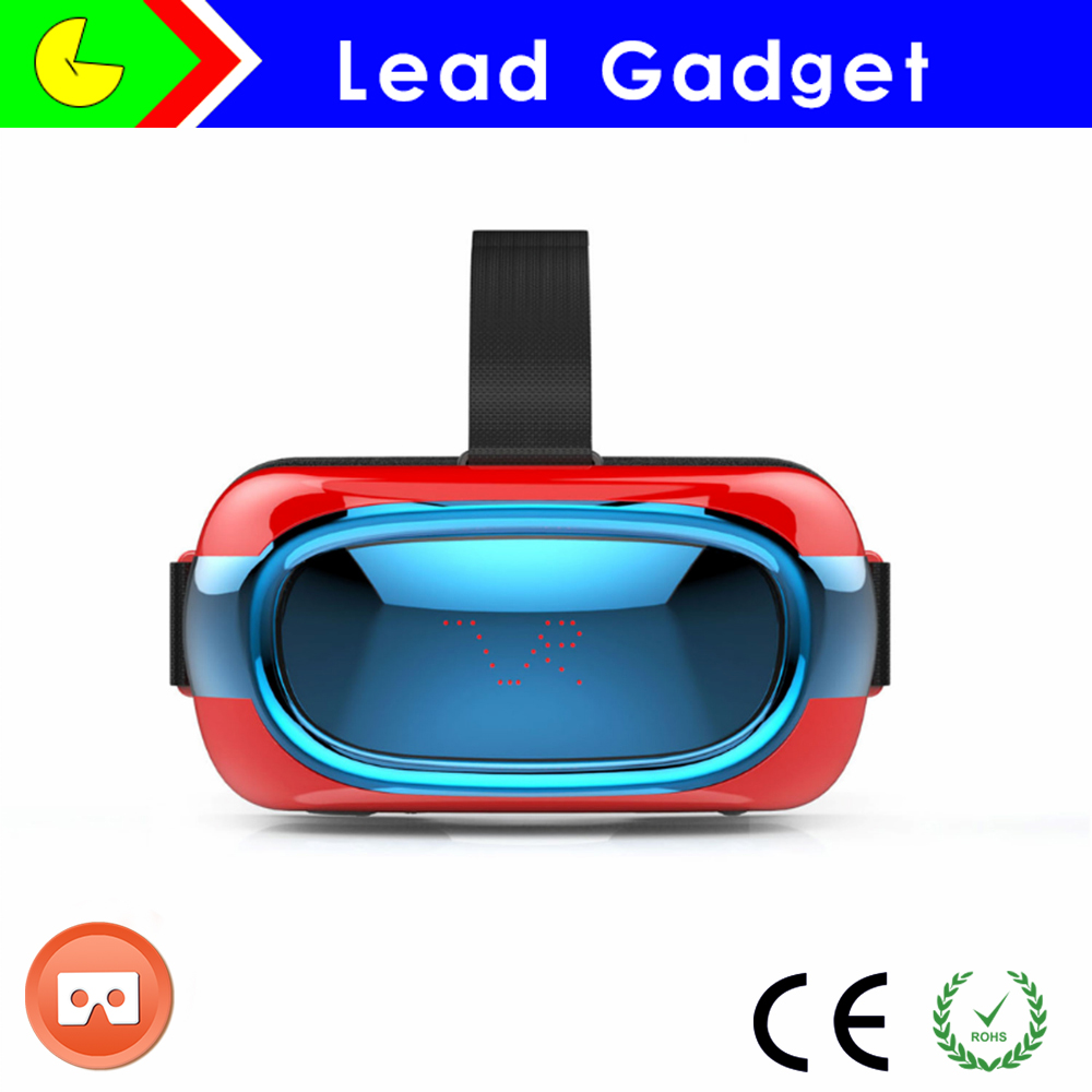Smart vr VR Headset watch blue movie 3D VR glasses box with wifi and memory card game and video