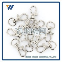 Professional ODM China Lobster Clasps Swivel Trigger Clips Snap Hooks Bag Key Ring Charms Findings