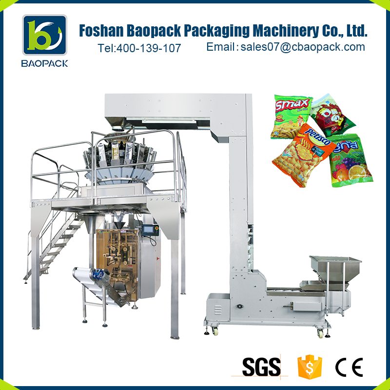 Factory direct supply Pneumatic lollipop candy packing machinery