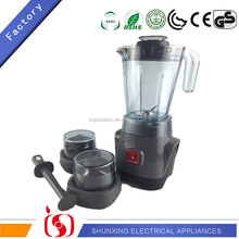 New Design 3 in 1 Electric Blender Food Processor Home Appliance