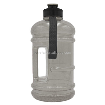 High quality gym fitness 2.2l gym shaker water bottle with handle in UK