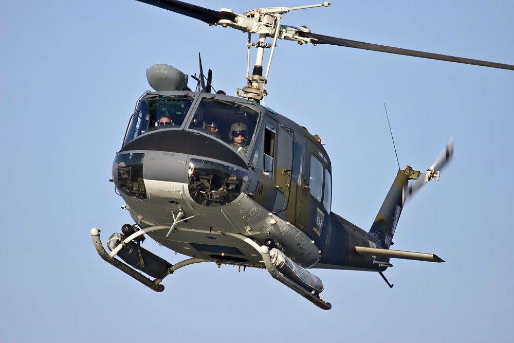 UH-1H Huey Helicopter (Similar as Bell 205 Helicopter)
