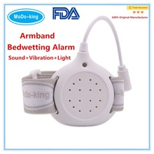 Best enuresis incontinence training armband Bedwetting Alarm to kids and adult,elderly