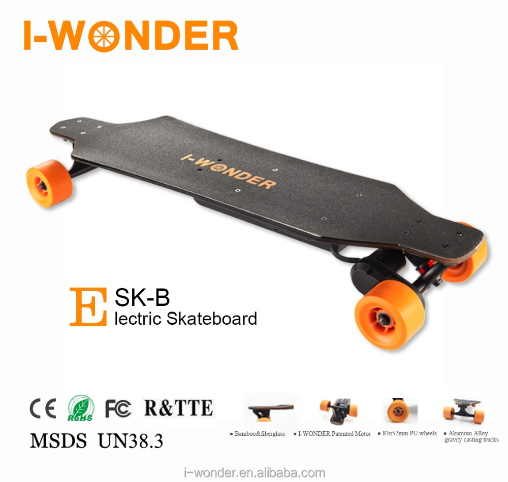 SK-B I-WONDER 1200W DC Brushless Motorized boosted Electric Skateboard/Blueteeth Remote