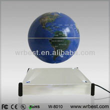 2013 New Invention! Promotional Wedding Souvenir Gifts/ Maglev Levitation Rotating Plastic Globe Crafts W8010