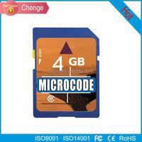 4GB SDHC memory card SDHC Secure Digital Memory Card +CASE
