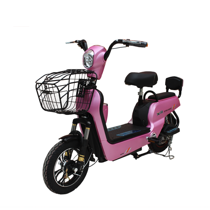 Hot selling 350w brushless 48V 16 inch cheap ladies electric bicycle with pedals