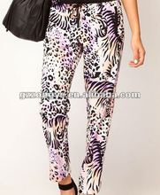 ladies fasionable long pants for summer