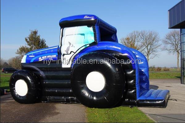 train inflatable bouncy castle inflatable tractor bounce