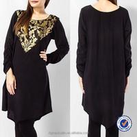 pakistani designer long kurti long sleeve kurti designs for stitching made in china