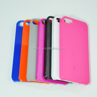 Stock Hot Selling Candy Colors Mobile Phone Cover For iphone 5 5S Case for Various Mobile Phone