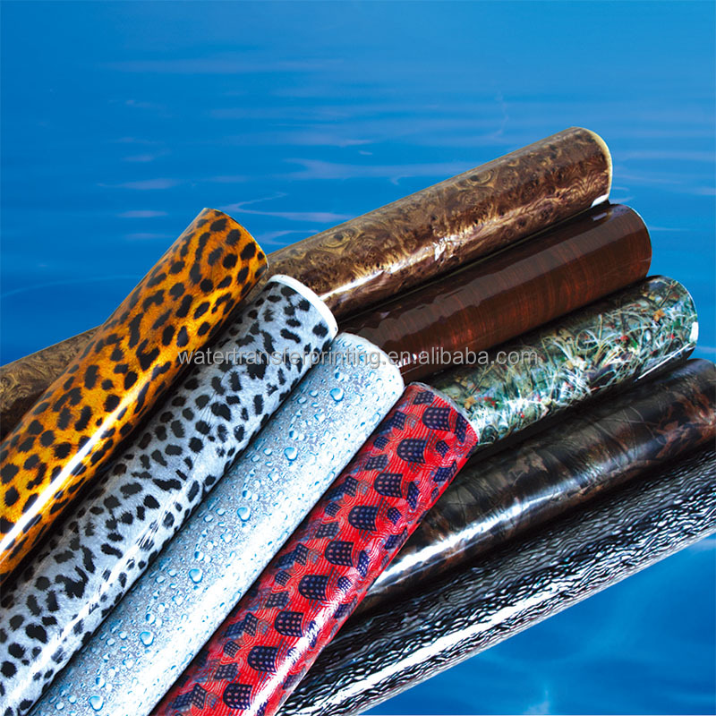 2016 Hot sale leather animal print water transfer printing hydrographic film
