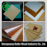 High quality melamine laminated mdf board