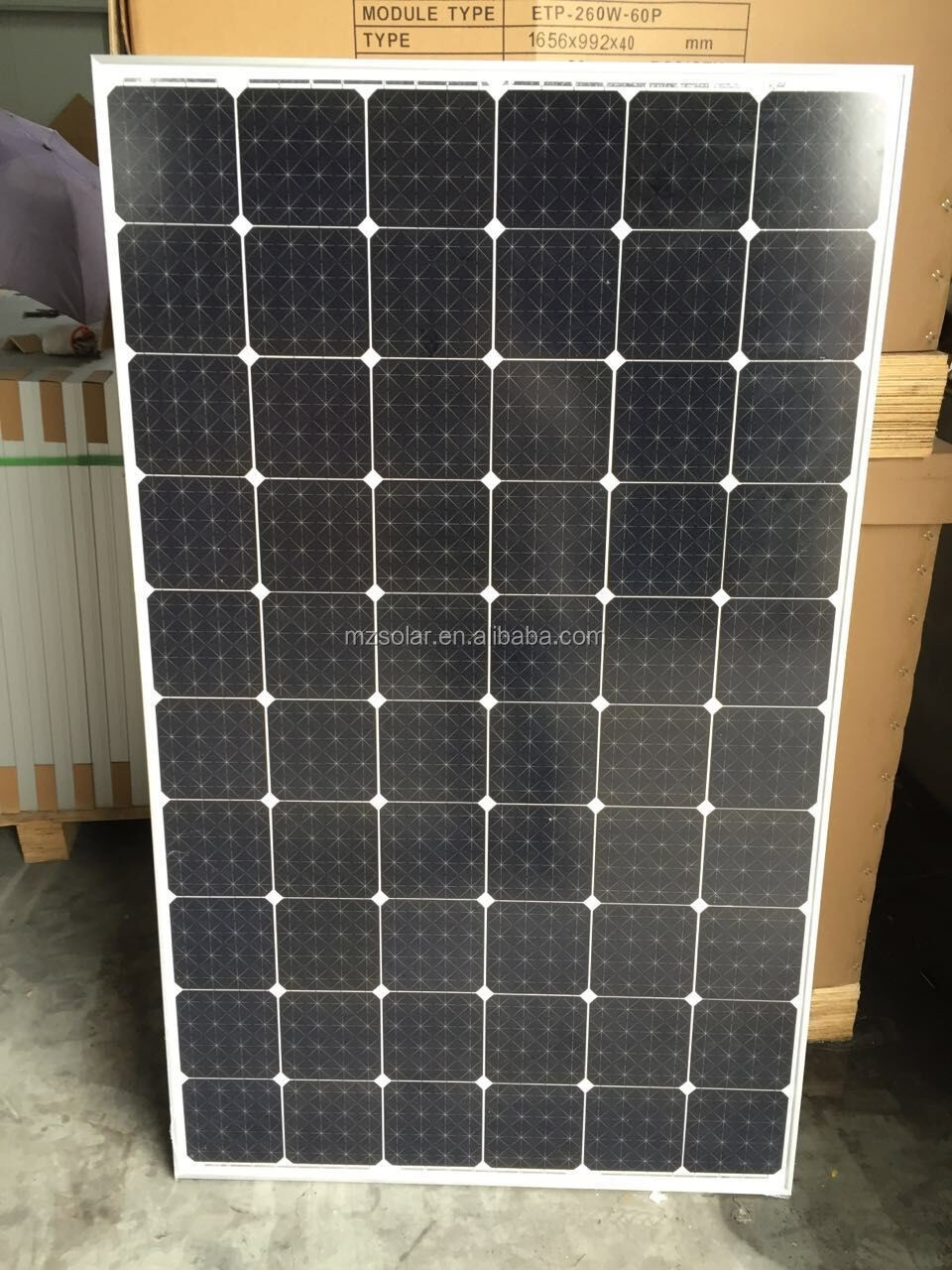 Latest technology solar panel 500w monocrystalline for home