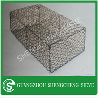 Africa gabion wire baskets for storage, river protect gabion, gabion planters