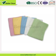 Wholesales colorful plain dyed washable clean microfiber hand wash towel