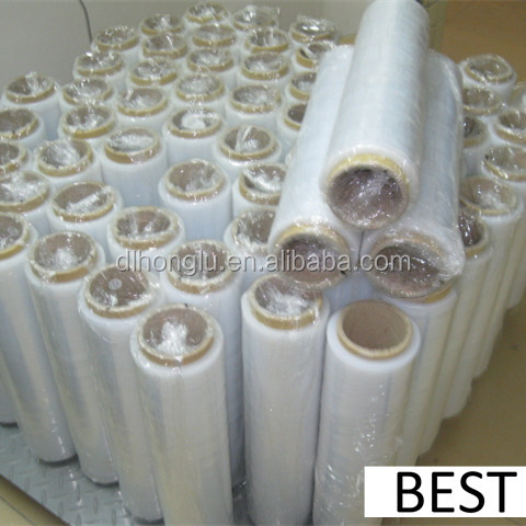 LLDPE Stretch Film / PE wrap Stretch plastic film jumbo roll factory price