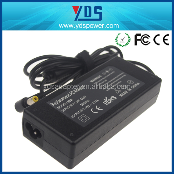 19V 4.74A 90W Power Supply AC Adapter LED driver for Desktop / Notebook / ic charger laptop