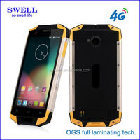 Original 5.0inch Gorilla IPS android 4g Adams Networks IP68 rugged smartphone 4 sim card mobile phone