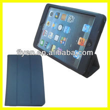 Solid Color Tri-folio Fold Case 360 Rotating Stand 7.9 inch Tablet PC Leather for iPad 5 Case