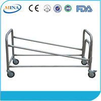 MINA-8A CE Approved Aluminum Alloy Funeral Church Trolley
