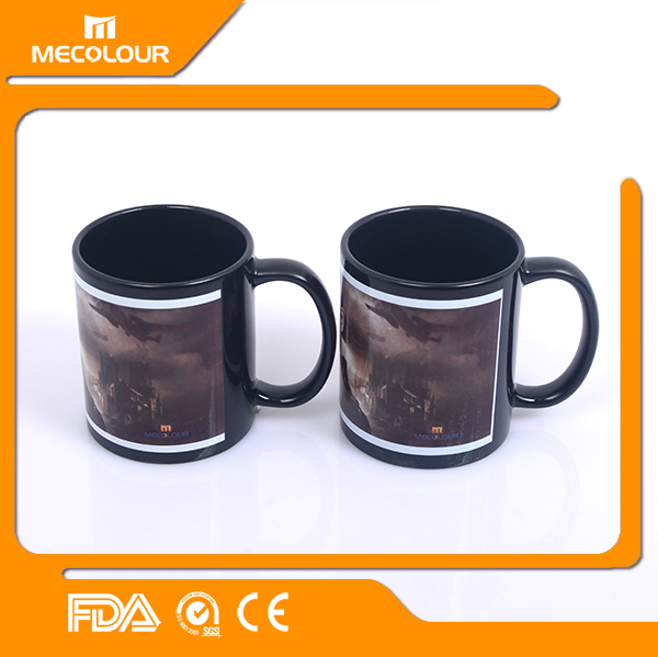 Coated decal mug with images printed 11 oz exquisite sublimation mug