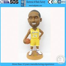 promotional 3d pvc figure toy;collectible NBA basketball player custom pvc figure