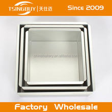 Wholesale aluminum non stick quarter sheet cake pan for the perfect gauge heat conducting