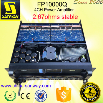 FP10000Q 2500W 4 Channel Line Array Amplifier