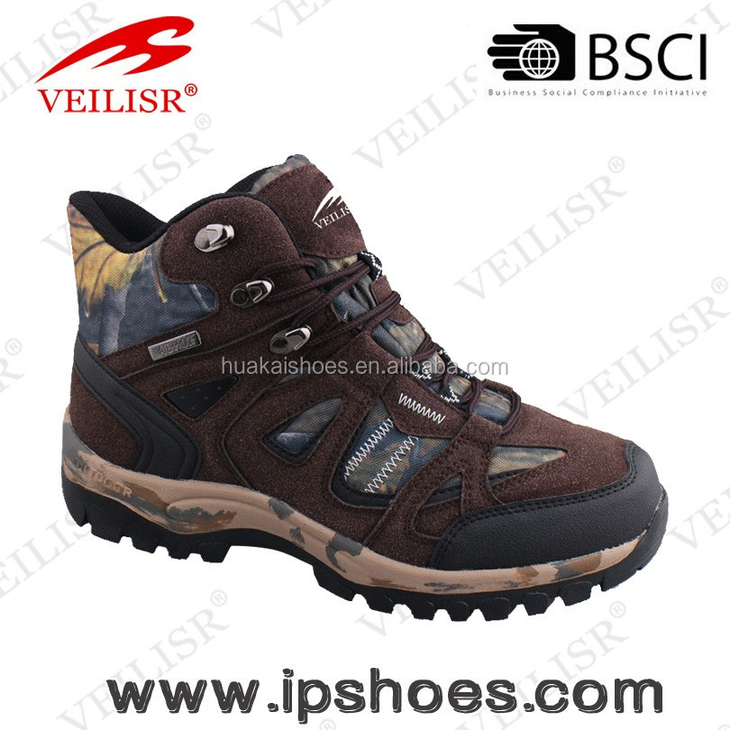 2016 high quality best quality mens hiking boots for climbing outdoor winter season