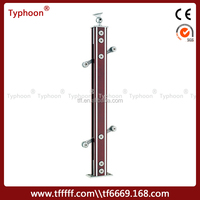 Typhoon al-mg stair handrailsfor villa/hotel/entertainment places