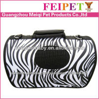 Factory Price Petsmart Pet Carriers Zebra-stripe Carrier