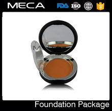 logo printing makeup powder foundation compact bb cream tube container