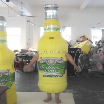 Hola adult wine bottle mascot costume for sale