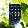 High efficiency 120w thin film solar panel flexible factory direct with ce