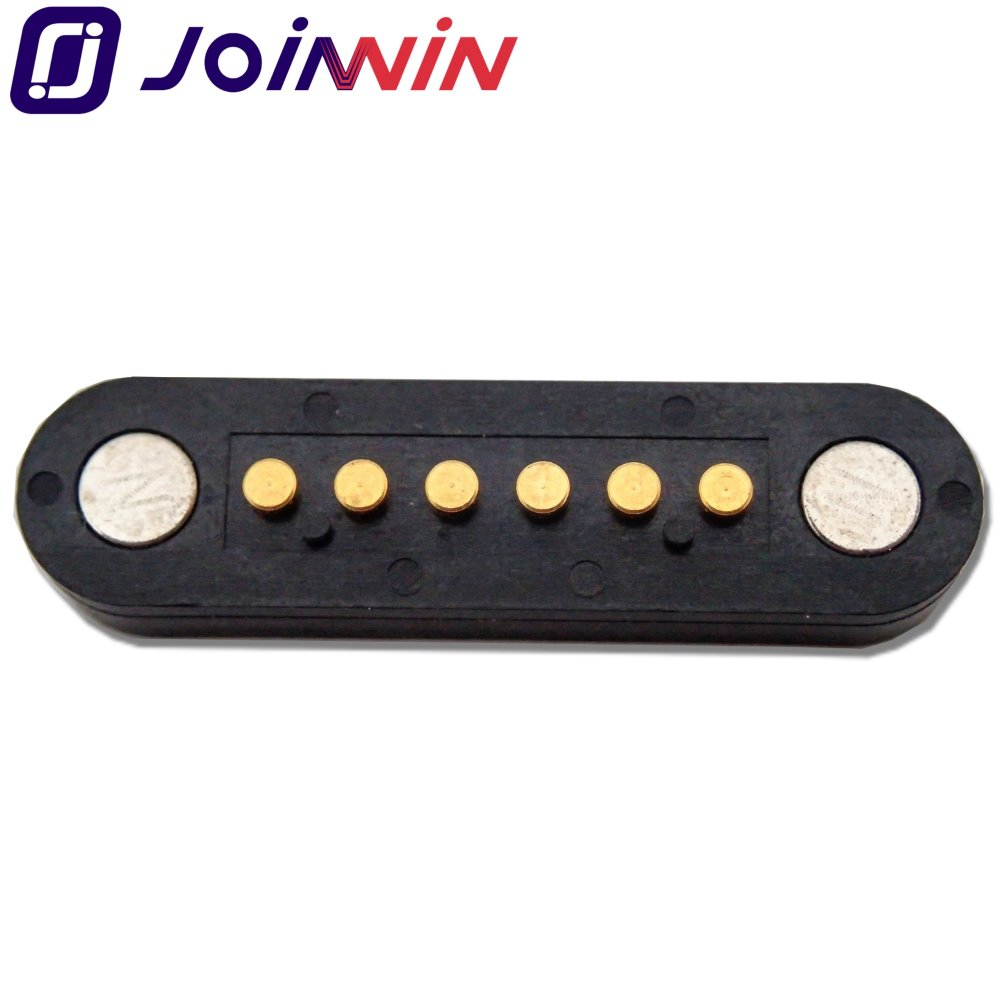 Magnetic pogo pin connector spring loaded pin charger magnet pogo pin