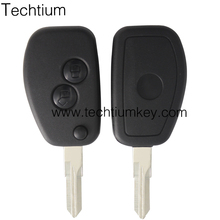 Car Key For 2 Button Replacement Flip Key Remote Fob Blank Case Shell Car Renault VAC102 blade Key