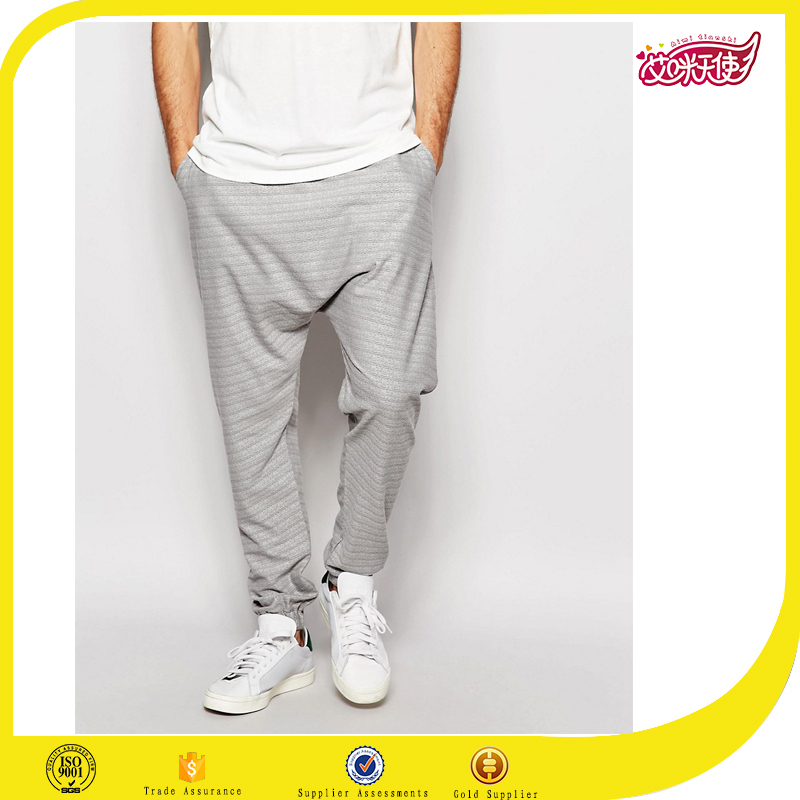 wholesale custom hip hop jogger pants,high quality garterized jogger pants