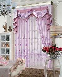 2015 MEIJIA customized lace curtain
